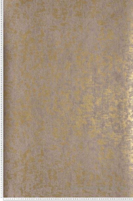 Papier Peint Taupe Dore Paillettes Talochees Place Vendome De
