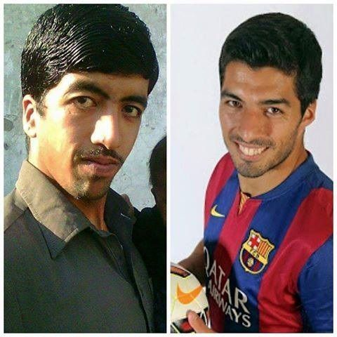 W Pakistanie też mają swojego Luisa Suareza • Podobieństwo z napastnikiem FC Barcelony • Wejdź i zobacz sobowtóra Urugwajczyka >> #suarez #barca #fcbarcelona #barcelona #football #soccer #sports #pilkanozna #funny