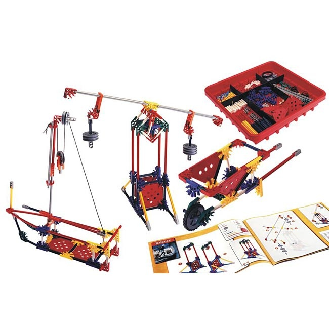 K'Nex - Intro To Simple Machines: Levers and Pulleys ...