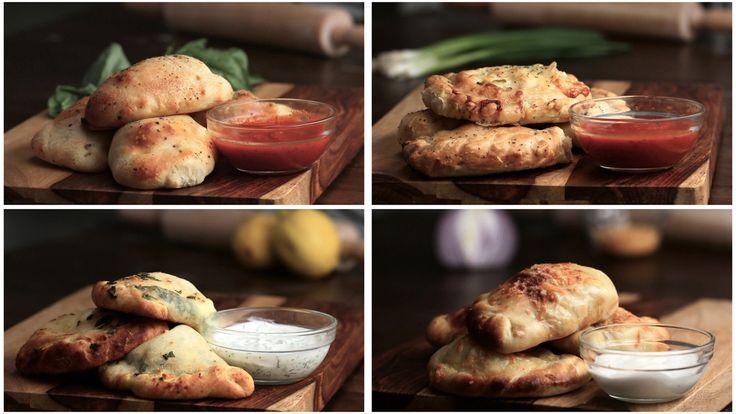 【レシピ】さくっとクリスピー!4種のカルツォーネの作り方🍕