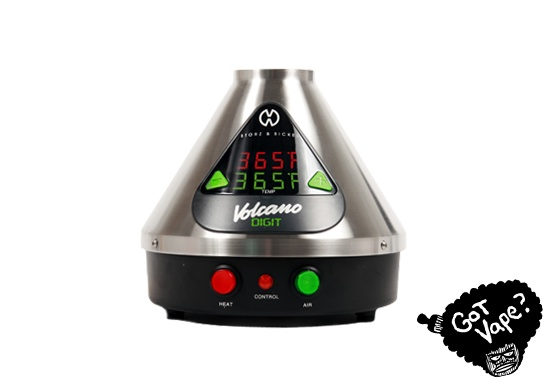 The Digital Volcano Vaporizer with Easy Valve