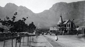 Orange Street, Cape Town in 1870.