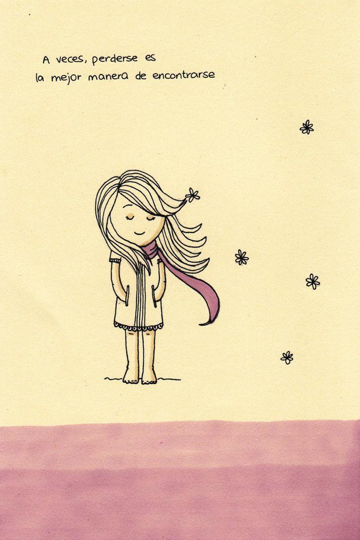 A veces perderse, es la mejor manera de encontrarse