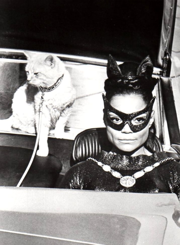 Eartha Kitt as Catwoman, December 1967.
