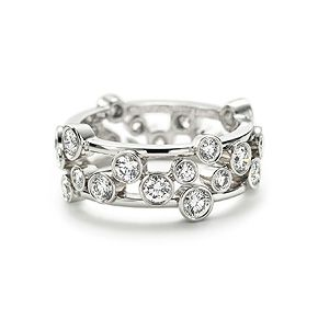 Tiffany Bubbles ring of diamonds in platinum. or maybe this one. law school graduation present to self. You know...four years from now