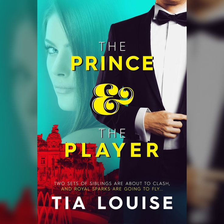 ALL THE SCOOP, including PRE-ORDER LINKS at http://www.AuthorTiaLouise.com/the-prince-the-player <3 Design by Hang Lee