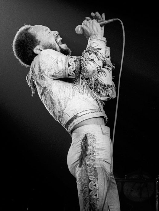 Maurice White from Earth, Wind and Fire