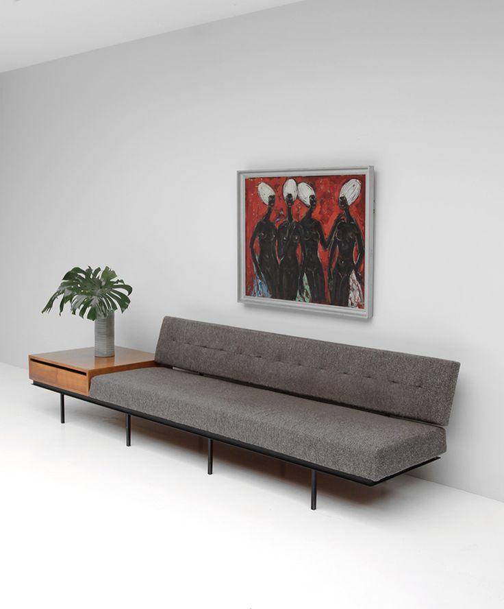 City Furniture | Sofa and Cabinet by Florence Knoll