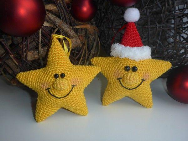 Funkel, funkel, kleiner Stern...Dieser freundliche, kleine Stern heißt Twinkle und würde gerne bei dir zu hause strahlen! Ob als Deko, Glücksbringer oder kleines Geschenk, der kleine Kerlist einfach zum verlieben. zum häkeln