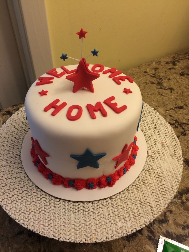 25 Best Ideas About Welcome Home Cakes On Pinterest Welcome Home Housewarming Cake And