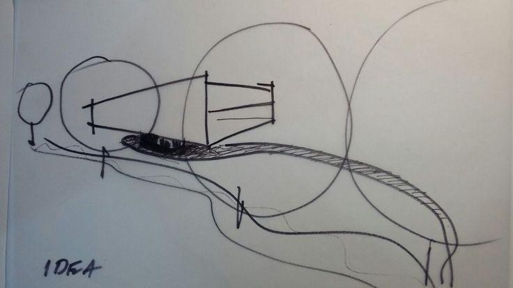 Office block in Namibia conceptual sketches #architecture #designstudio #commercial #frankbohmstudio