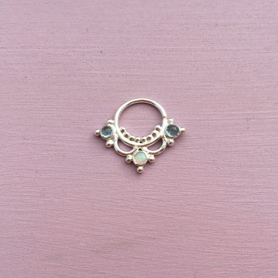 Hey, I found this really awesome Etsy listing at https://www.etsy.com/listing/227134046/goddess-septum-ring-solid-sterling