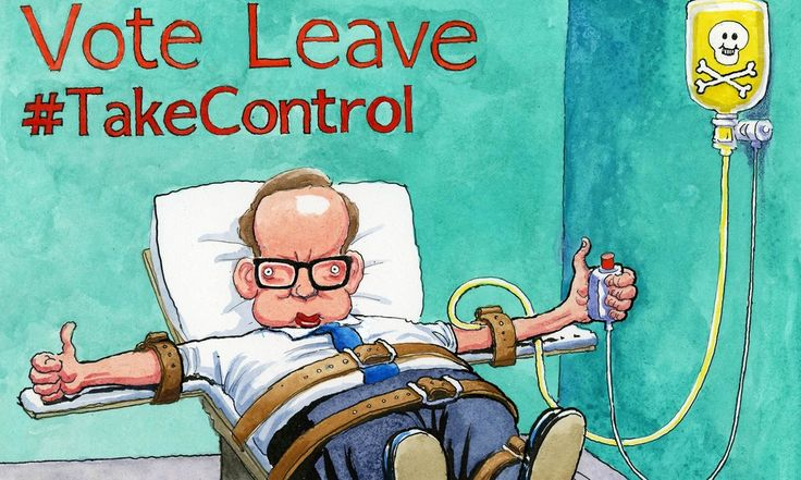 Steve Bell on Michael Gove's plans for life outside the EU – cartoon | Opinion | The Guardian