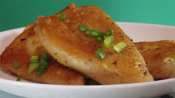 Постные блинчики с начинкой из картофеля-супер вкусный рецепт......Veget...