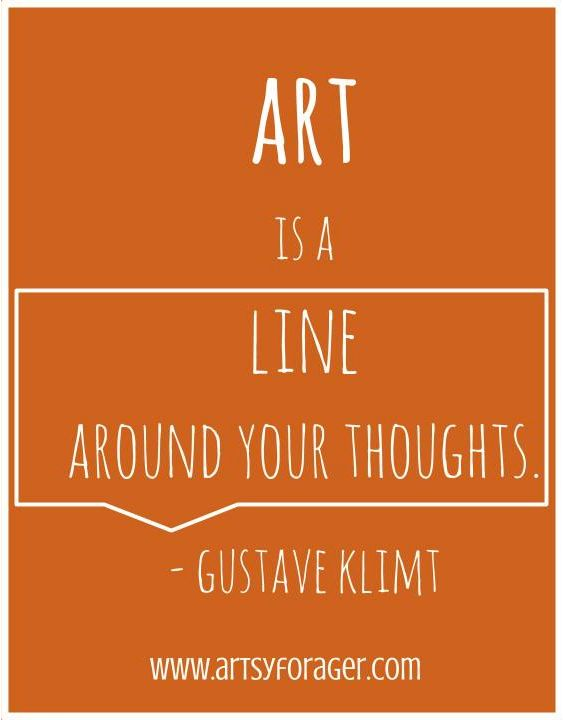 Gustave Klimt #quotes