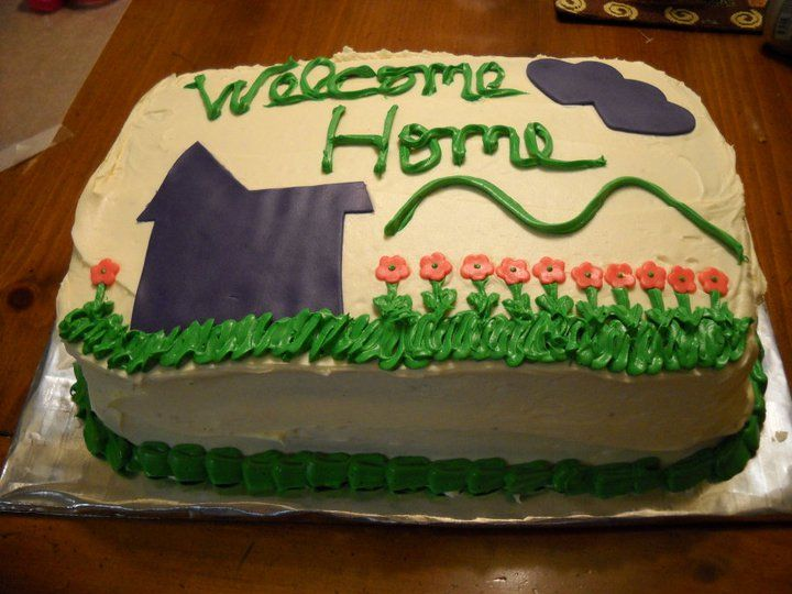 Best 25 welcome home cakes ideas on pinterest for Welcome home cake decorations