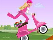 Stiai ca fetele pot fi uneori motocicliste mai bune decat baietii? Ei bine nici Barbie nu face exceptie!...