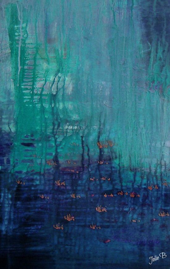 Bottom of the Waterway by Jolie Buchanan collab with Christy Birmingham #art #poetry (@Jolie Rozema Buchanan /// joliebstudios , you are one heck of an amazing artist!!)