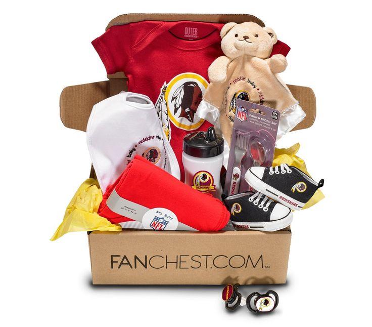 Washington Redskins Baby Box | Redskins Onesies, Bibs & More • FANCHEST