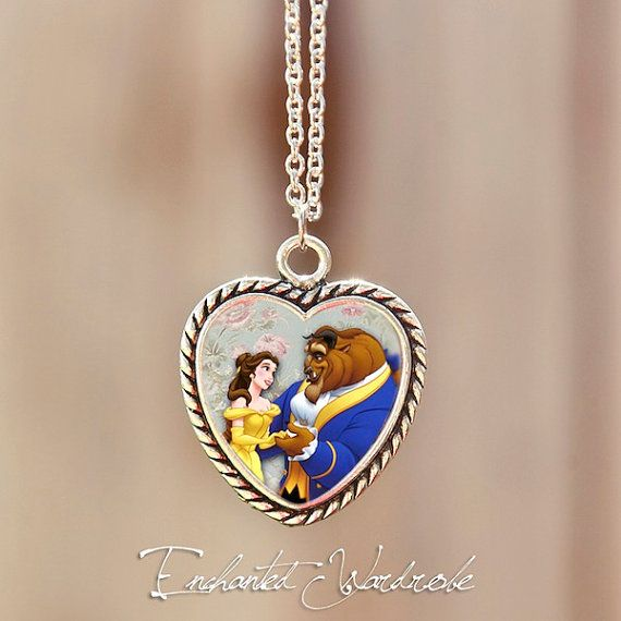 61 best beauty and the beast obsession images on pinterest for Disney beauty and the beast jewelry