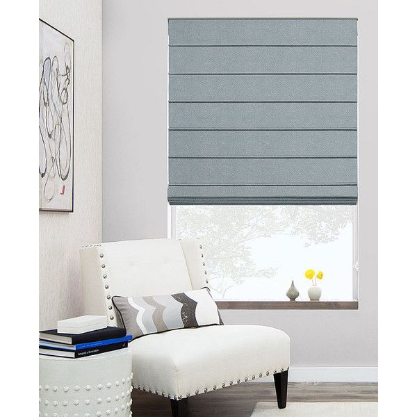 Modern Roman Shades | Aventura Design | The Shade Store (29.325 COP) ❤ liked on Polyvore featuring home, home decor, window treatments, window blinds, room, modern window blinds, modern blinds, aventura, modern shades and modern window coverings