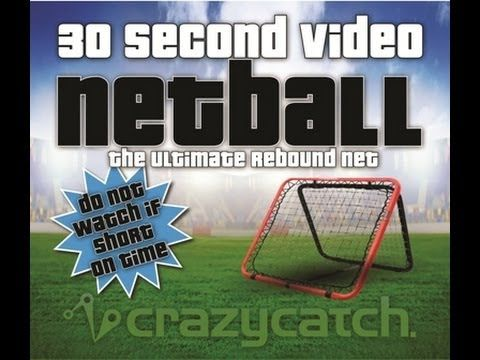 Crazy Catch for Netball - 30 second video - YouTube