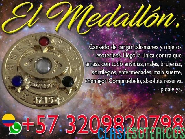 MEDALLON PARA REGRESAR A TU PAREJA EN MEDELLIN LLAMA YA +573209820798 Medellín - Clasiesotericos Colombia