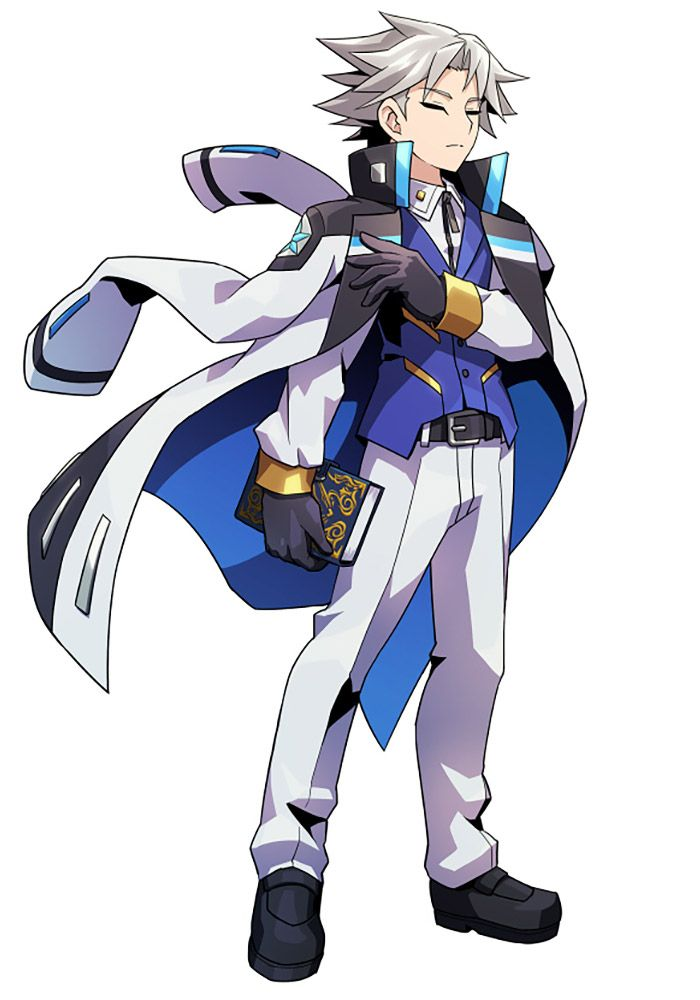 Tenjian from Azure Striker Gunvolt 2