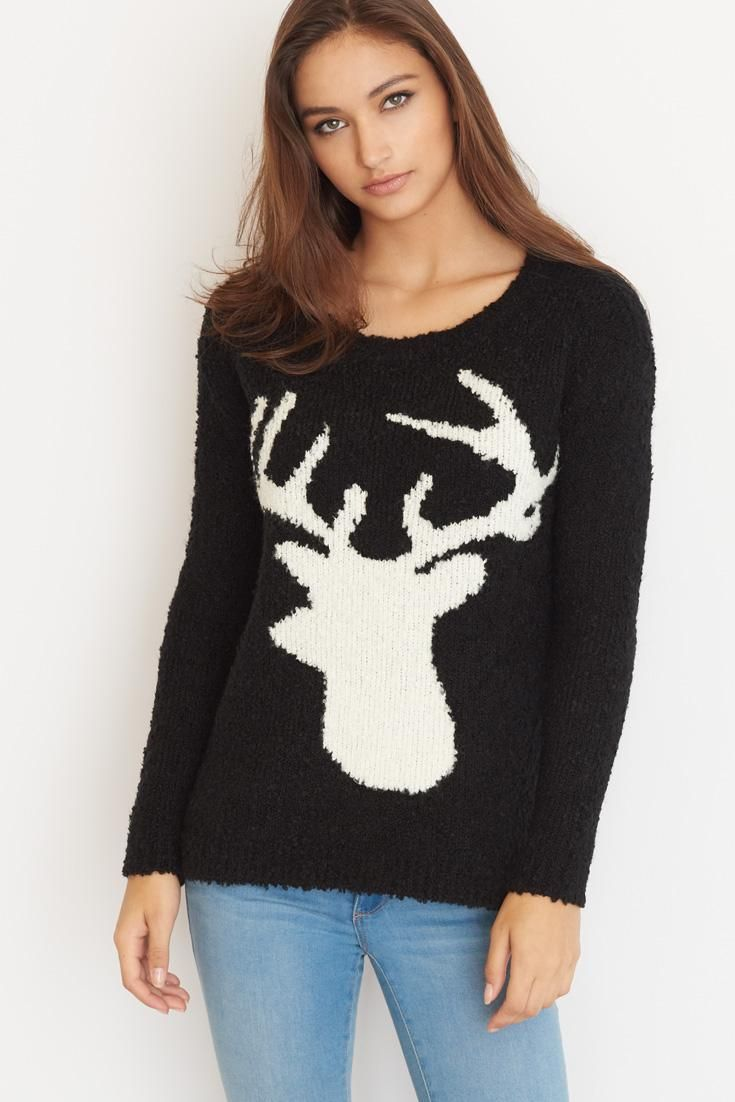 Reindeer Sweater.