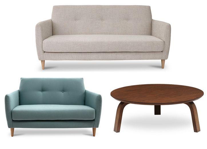 3 Cute, Modern Furniture Sets for a Major Living Room Makeover