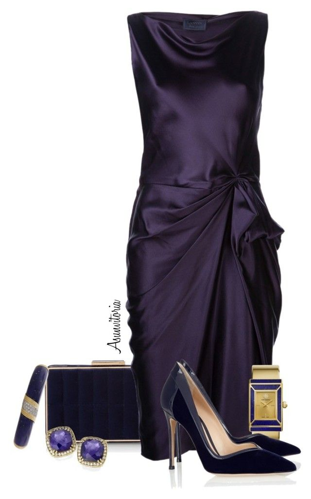 Sin título #1614 by asunvitoria on Polyvore featuring polyvore, fashion, style, Lanvin, Gianvito Rossi, French Connection, Tory Burch and clothing