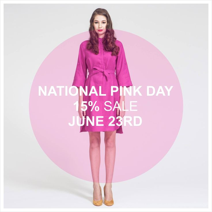 Celebrate National Pink Day by receiving 15% off of anything pink by @zvesel on the online store. Happy shopping! http://www.zuzanavesela.cz/en/ #nationalpinkday #pink #shopping #fashion #sale #prettyinpink #shoponline