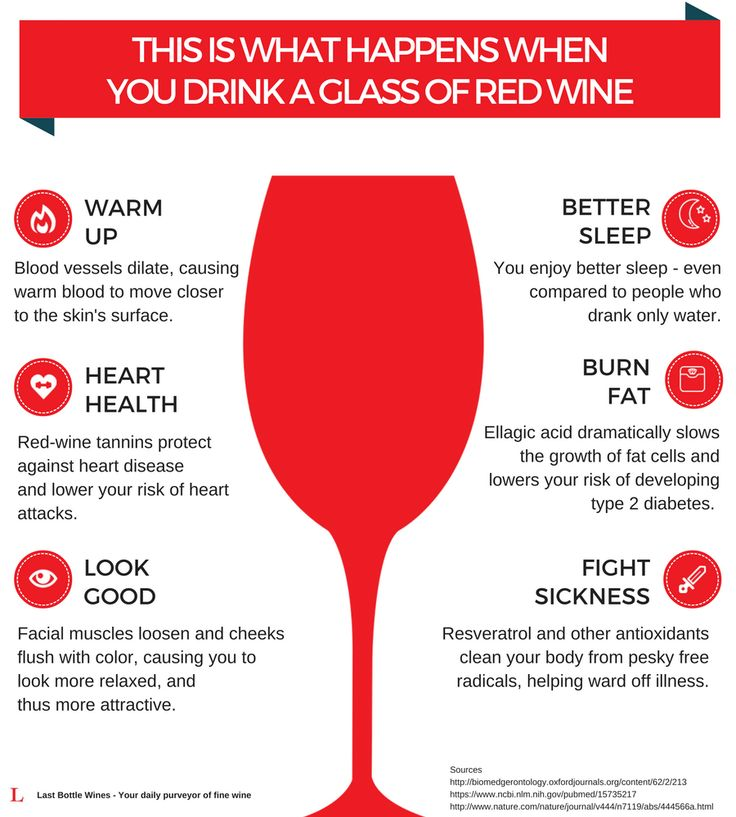5 Smart Reasons You Should Drink Red Wine Every Night - Sediments - The Last Bottle Wines Blog