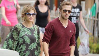 cotibluemos: Eva Mendes y Ryan Gosling tienen una niña
