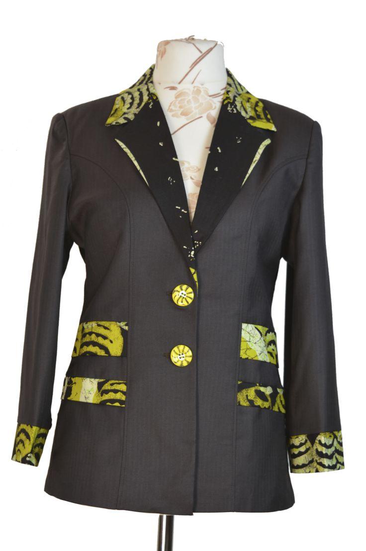 African Batik blazer Top – Kipfashion