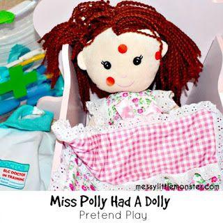 miss polly had a dolly world nursery rhyme week