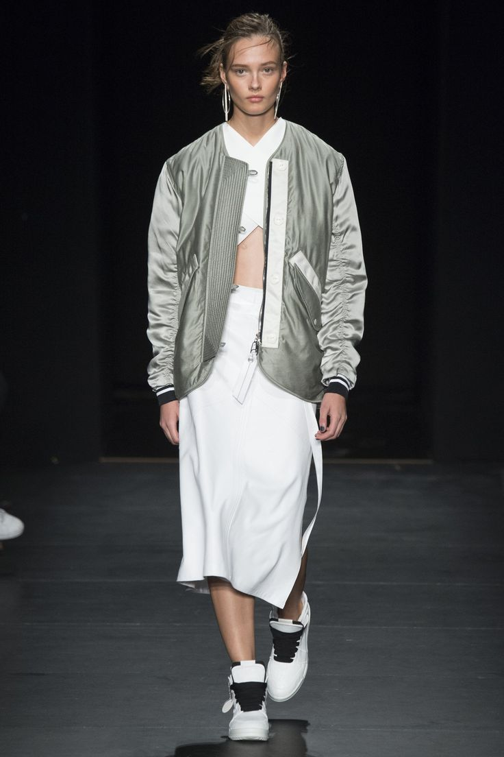 Streetwear and bomber jackets is the way to go next season. Rag & Bone ss16