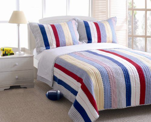 Greenland Home Prairie Stripe Quilt Set, Full/Queen Greenland Home http://www.amazon.com/dp/B000HZX1NG/ref=cm_sw_r_pi_dp_hIvUtb0GDJ4N4D9J