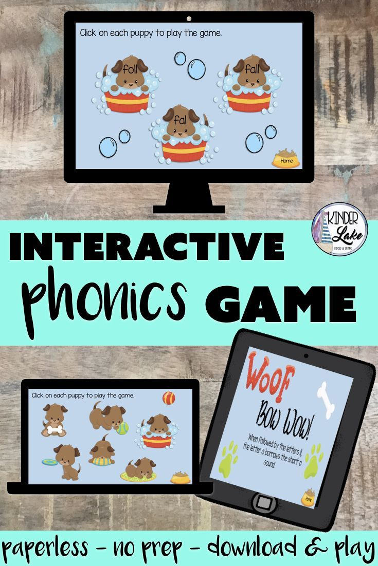 all Word Family: Interactive Game | Things I Like | Phonics