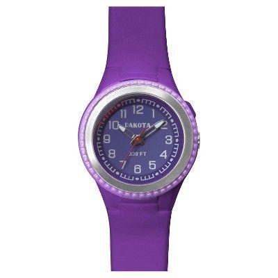 Women's Dakota Sport Watch - Yellow, Dark Purple