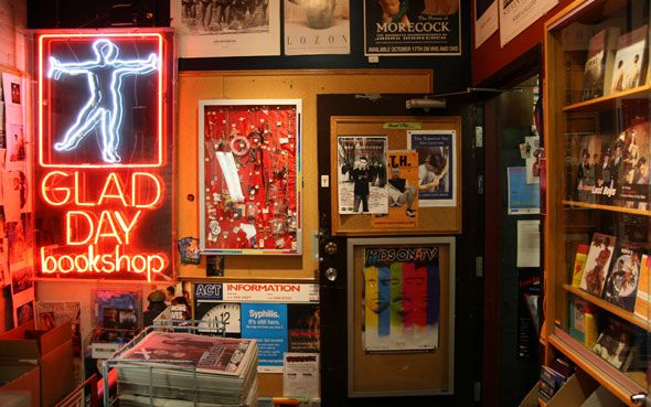 We told you last month that Glad Day Bookshop, Toronto's oldest bookstore and…