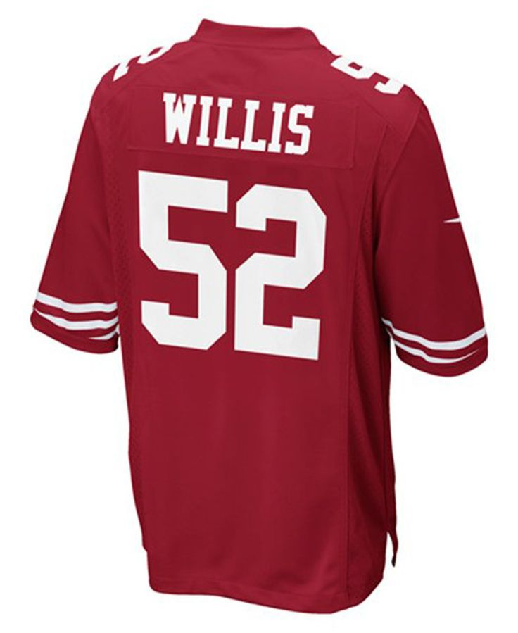 12c783024bd ... 52 Nike Elite White Drift Fashion Womens NFL Jersey Nike Kids Patrick  Willis San Francisco 49ers Game Jersey ...