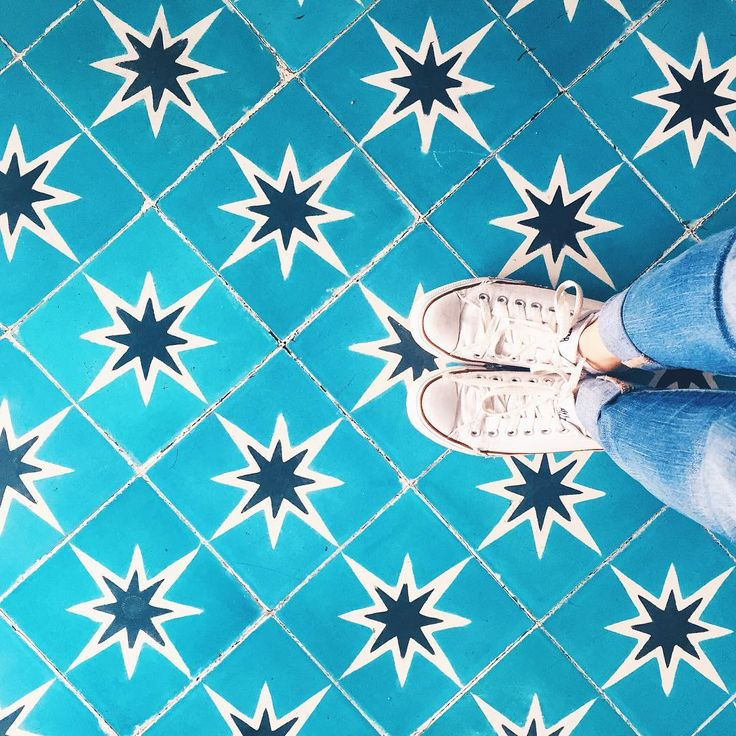 """The Curious Post on Instagram: """"This floor looks like two of my fav emojis combined, plus I love the shades of blue!  #thecuriouspost #tcp #blue #blogger #fromwhereistand #floor #flatlays #amazing #converse #curious #colorful #lifestyle"""""""