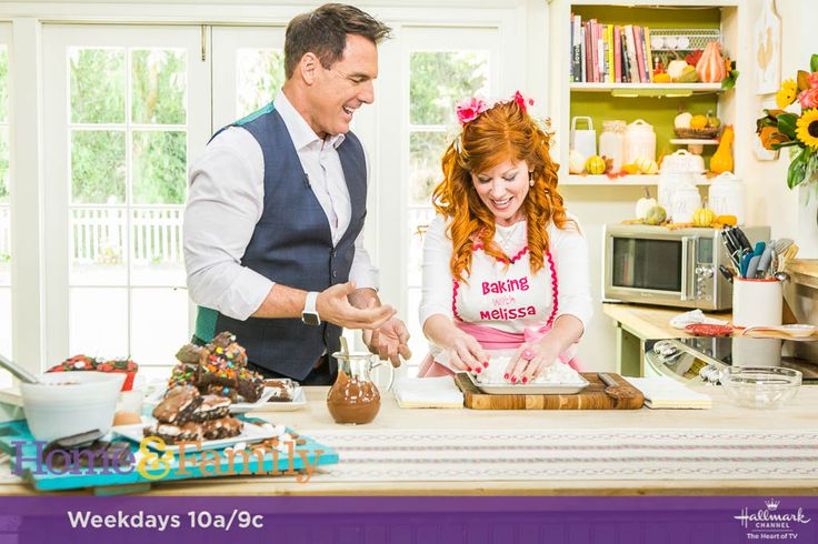 Melissa of Baking with Melissa will be appearing on The Home and Family Show on Monday, September 18th, 2017 at 10am and 9am central on The Hallmark Channel!