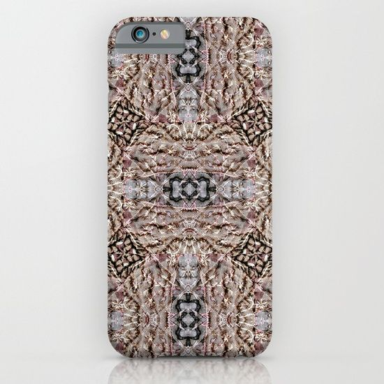 Textures in brown iPhone & iPod Case