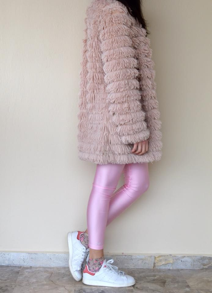 The baby pink shiny #pcpleggings #pcpclothing #pcpinia