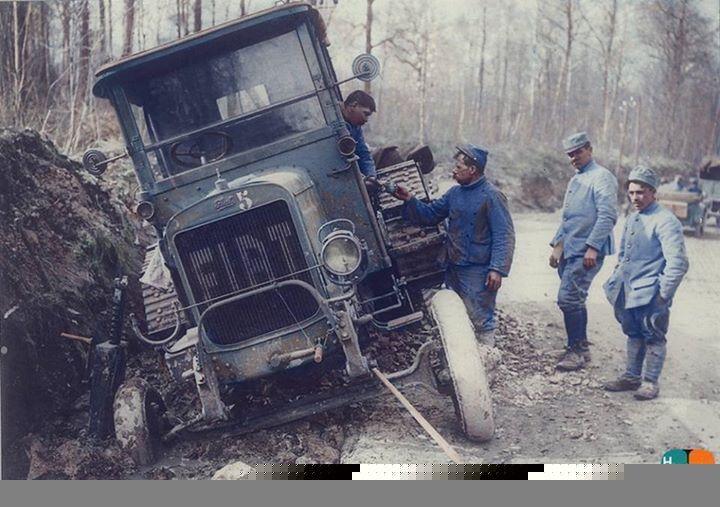 Armée de terre in color, The Great War