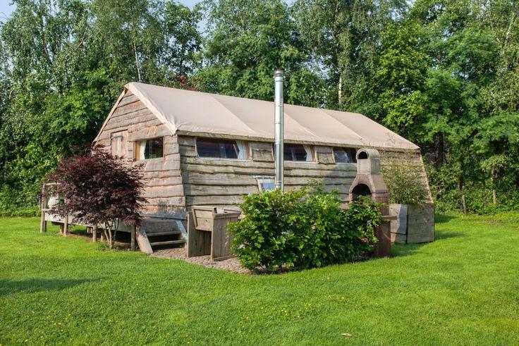 Buitenkant Lodges van Guesthouse de Heide