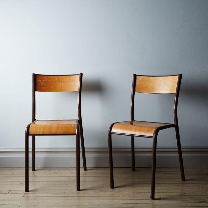Vintage Mullca 510 Dining Chairs Set Of 2 Dining Chairs French Dining Chairs Dining Chair Set