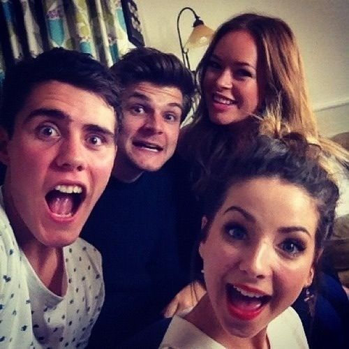 How did jim chapman reveal zoe and alfie hookup